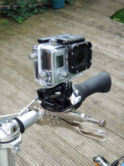 Go Pro go anywhere mount