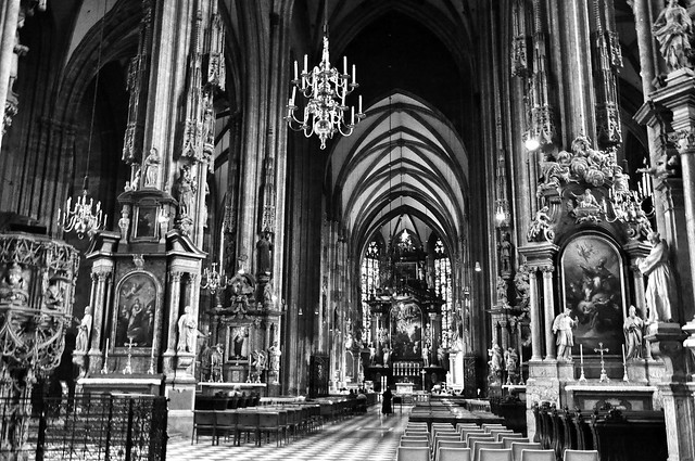 inside St. Stephens Cathedral