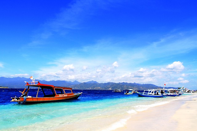 Gili Island in Indonesia by CC user skyseeker on Flickr