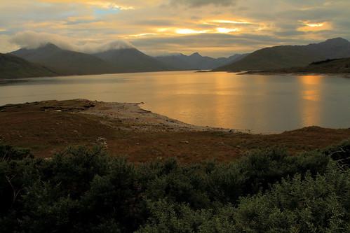 scotland fortwilliam scottishhighlands lochquoich kinlochhourn scotishhighlands