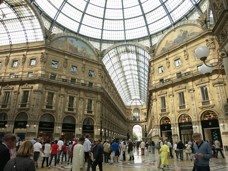 Galleria Vittorio Emanuele II Department Store.