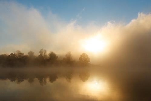 fog sunrise 1740mm blackhillregionalpark littlesenecalake sunriseoverlake boydsmaryland