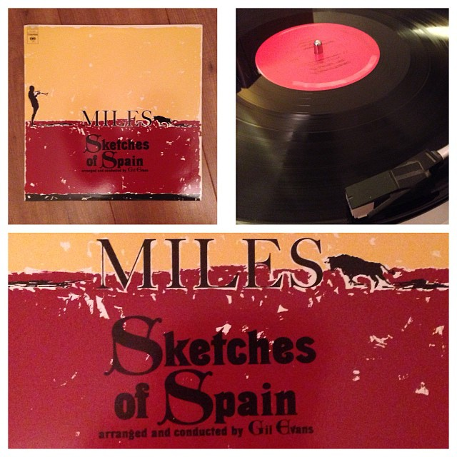 "031113_ #np ""Sketches of Spain"" by Miles Davis & Gil Evans #vinyl"