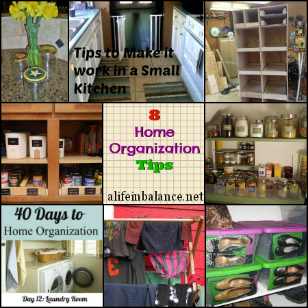 8 Frugal Home Organization Tips