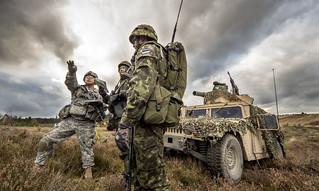 US, Estonian partners train together | by U.S. Army Europe