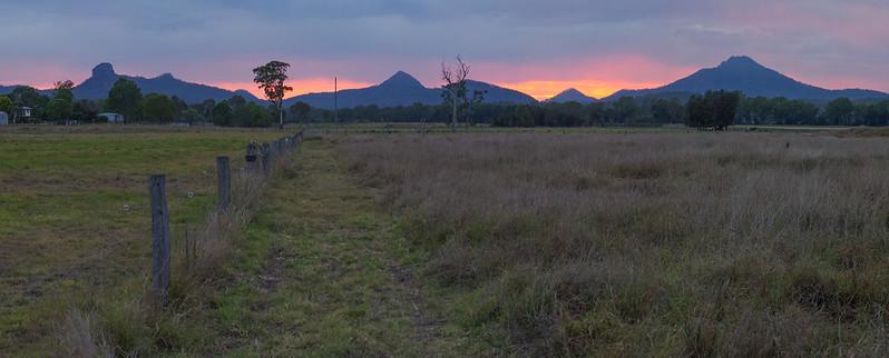 Flinders Peaks at Dawn