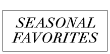 seasonalfavorites