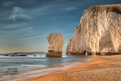Bat's Head and Bats Hole,  Dorset.