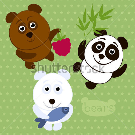 cartoon-funny-bears