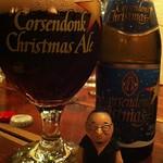 ベルギービール大好き!!コルセンドンク・クリスマス・エール Corsendonk Christmas Ale @ビスカフェ