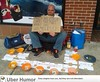 Smartest homeless man ever by lisasulaiman64