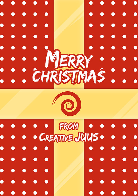 Merry Christmas present design