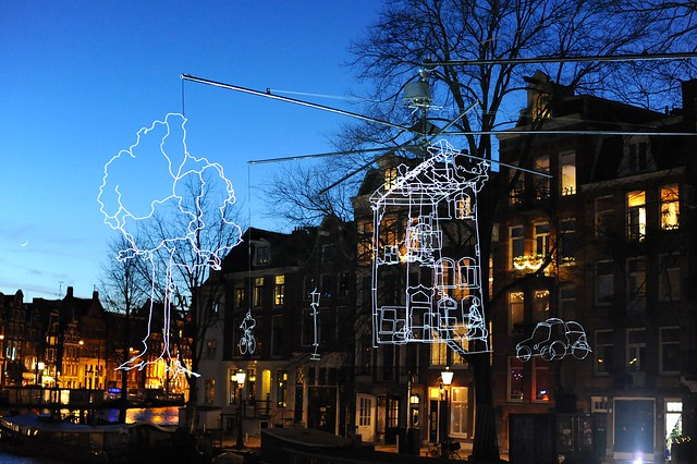 Amsterdam Light Festival 2013