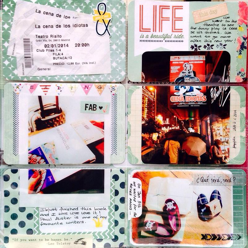 Project life 2014 semana 1