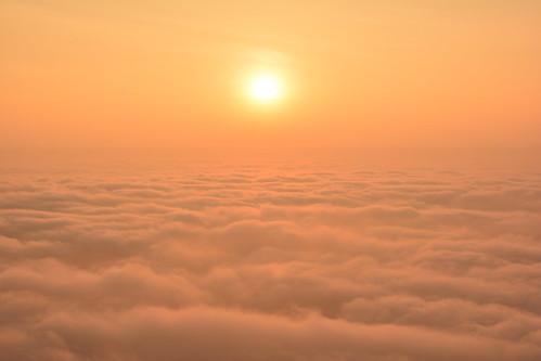 clouds sunrise day cloudy ngc bangalore nandihills skandagiri