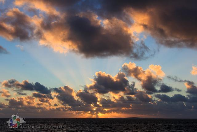 Sunset noordvaarder