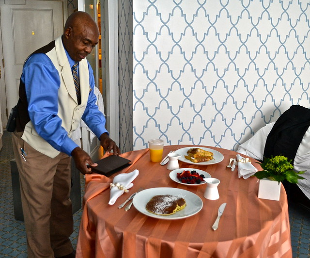 The Breakers Hotel, Palm Beach, Florida - room service