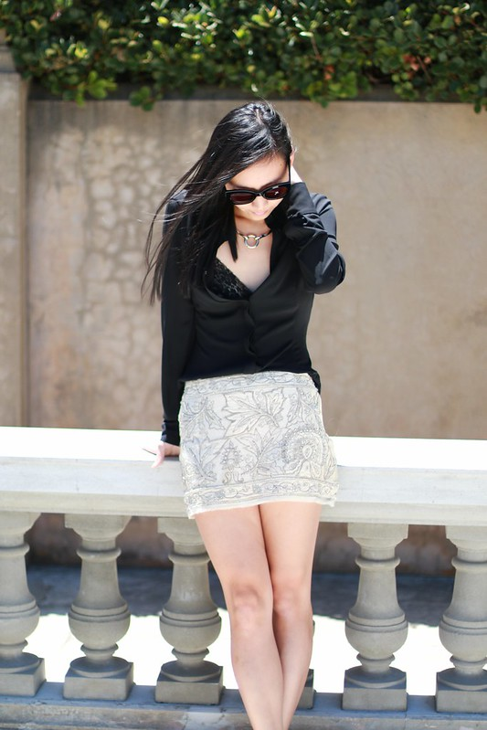 collette dinnigan skirt
