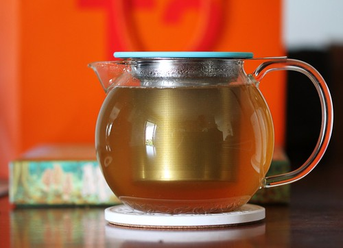 New Teapot, Brewing Creamy Chocolate Chai