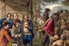 Chief Pontiac, Purposefully Infected With Smallpox By American Settlers and British Soldiers