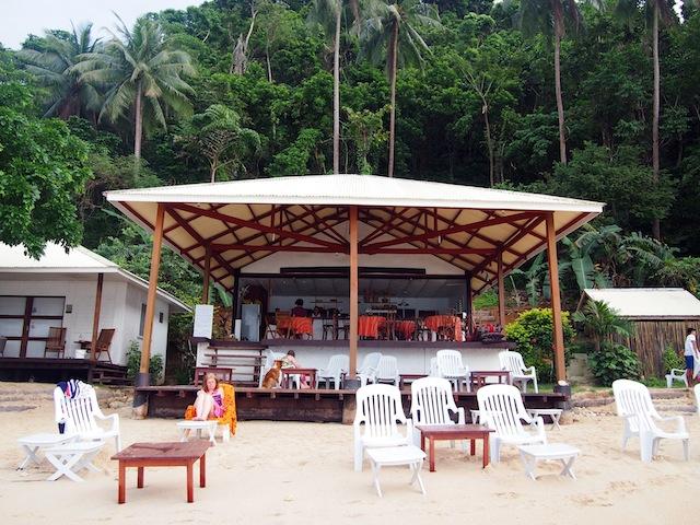 Corong-Corong beach El Nido Las Cabanas resort
