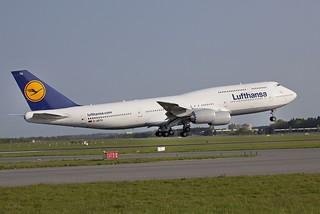 Boeing 747-8 de Lufthansa.