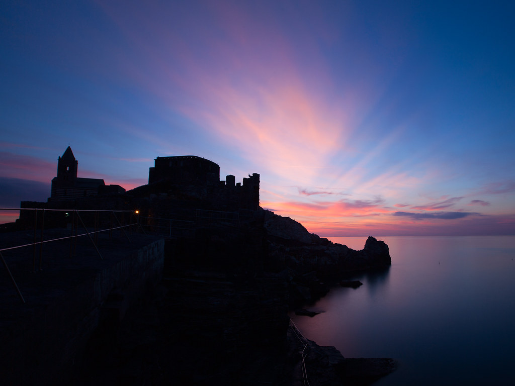 Sunset in Portovenere [lower]