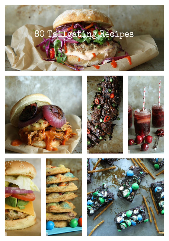 80 Tailgating Recipes I Heather Christo