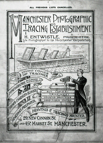 Manchester Photographic Tracing cover