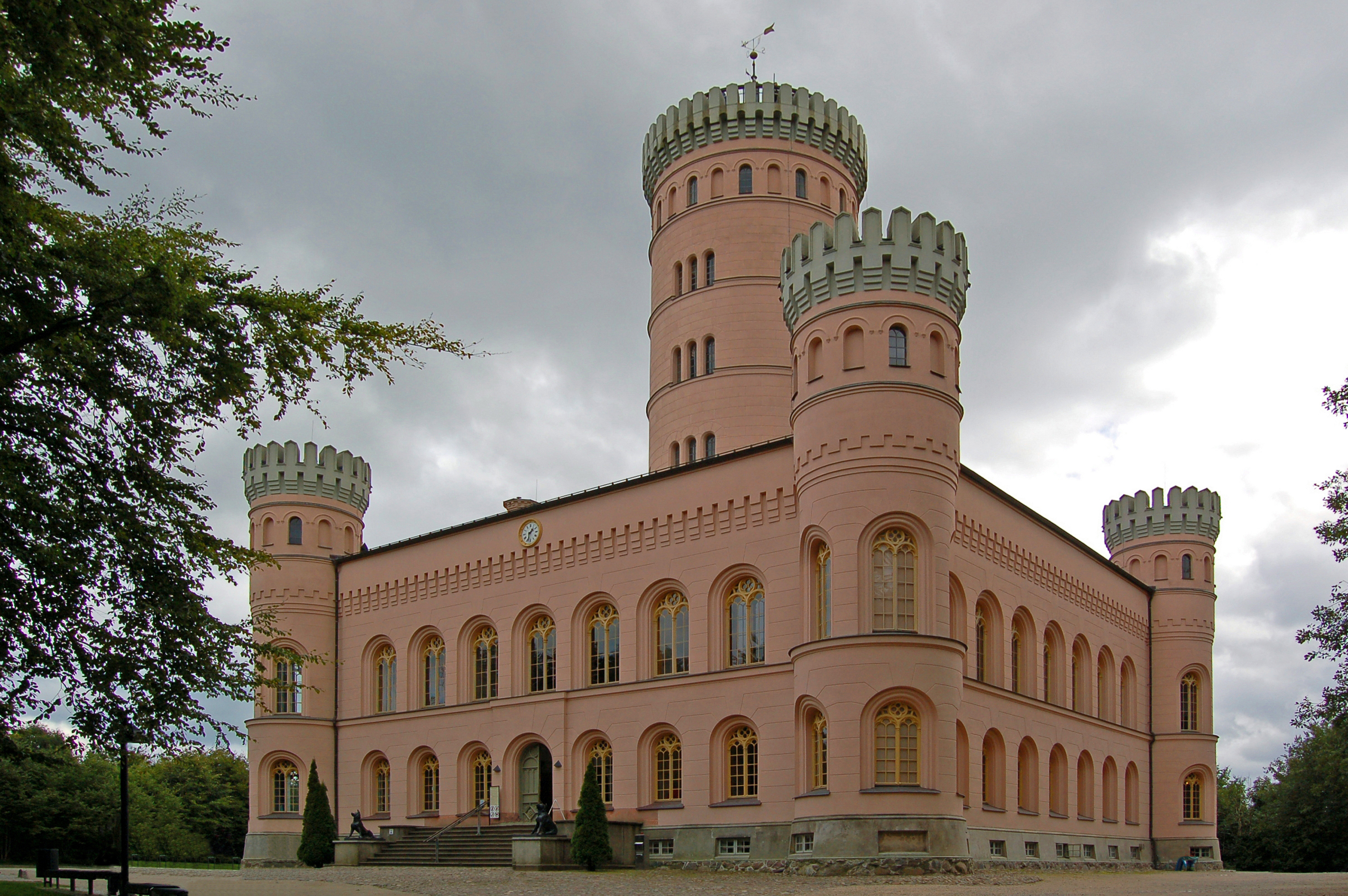 Jagdschloss Granitz bei Binz auf Rügen (01)