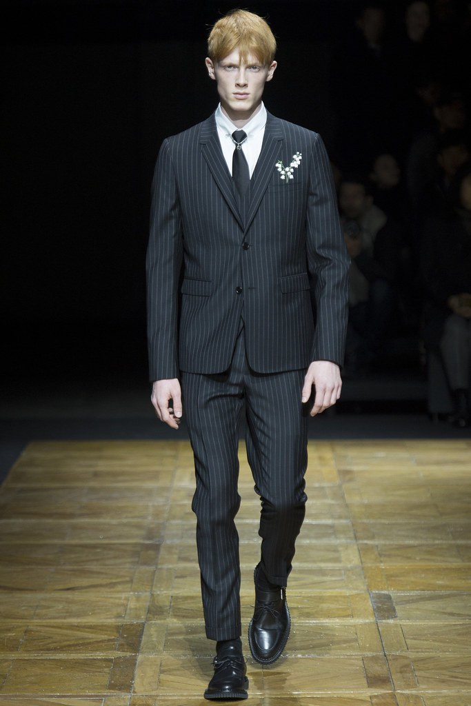 FW14 Paris Dior Homme001_Linus Wordemann(VOGUE)