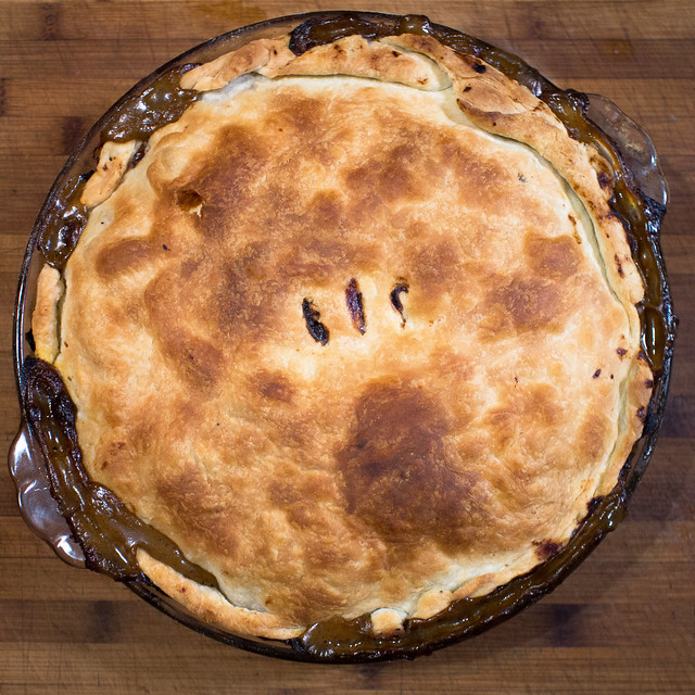 Meat Pie (with Flaky Crust) pie meat mean pie Beef