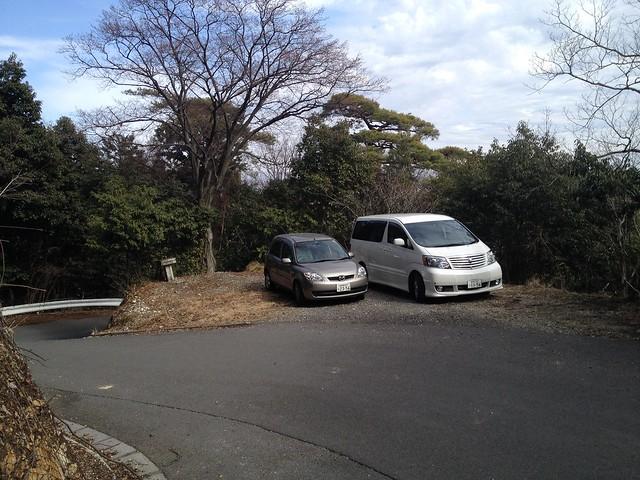 表山 駐車スペース