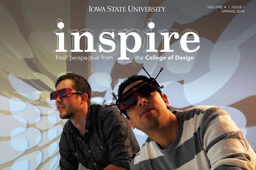 Check out the Spring 2014 issue of our Inspire alumni newsletter!