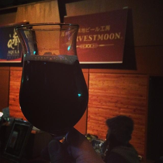 Photo:ハーヴェスト・ムーン 雪猿ダーク #SMBL2014  Style:セッションブラックIPA ABV:3.5% IBU:55 限定ビール。飲みやすくて好き! By yutacar