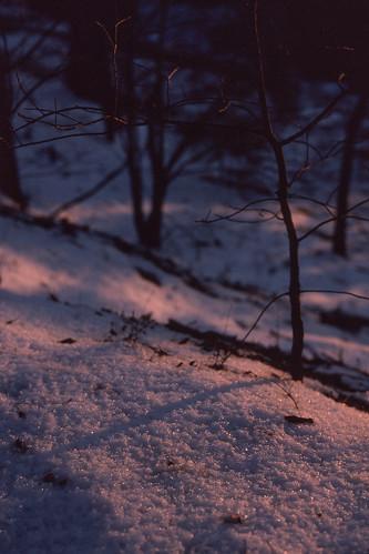sunset snow film 35mm kodak tennessee slide magichour dayton kodachrome64 reversal bryancollege canoneoselan7