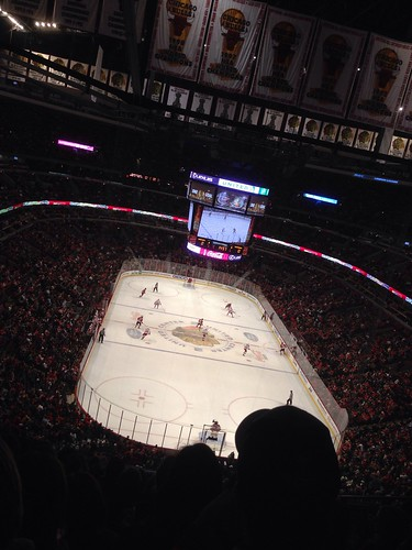Blackhawks vs. Hurricanes at the United Center