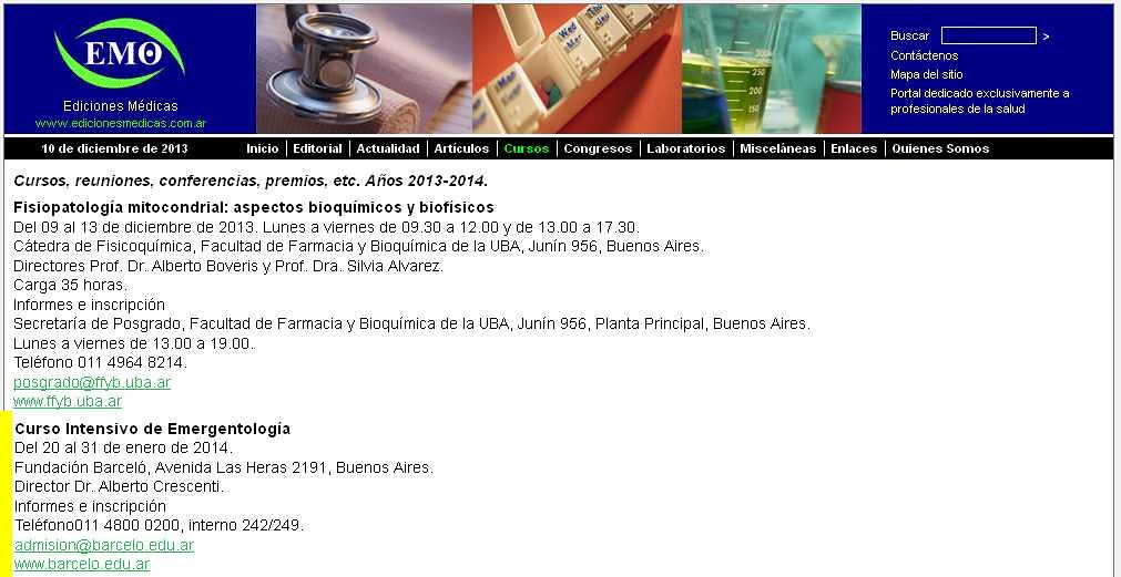 Site Ediciones Médicas 10-12-13
