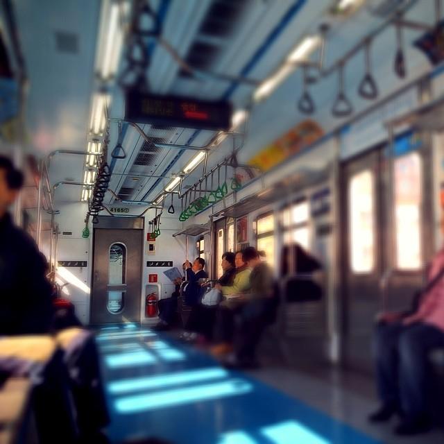 텅텅빈 #4호선 #subway #train #tube 뭔일이랴?