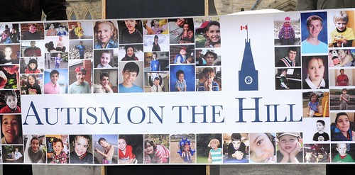 Autism on the Hill banner, 2014
