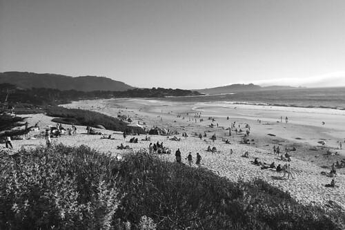 Carmel by the Sea - Beach scene