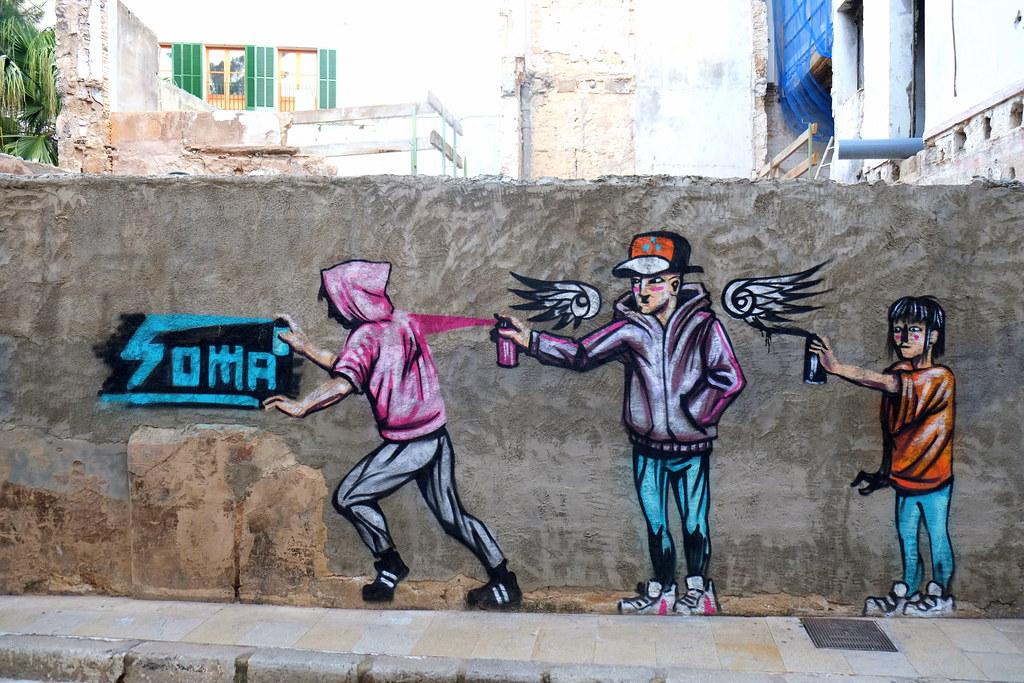 streetart | soma | palma de mallorca . 2014