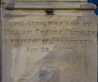 BURLEY ROAD CO-OP FOUNDATION STONE