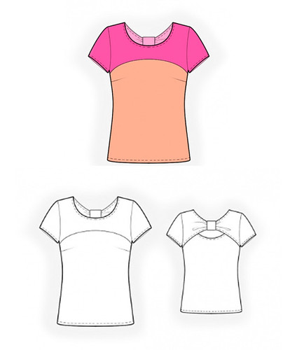 Lekala t-shirt drawing