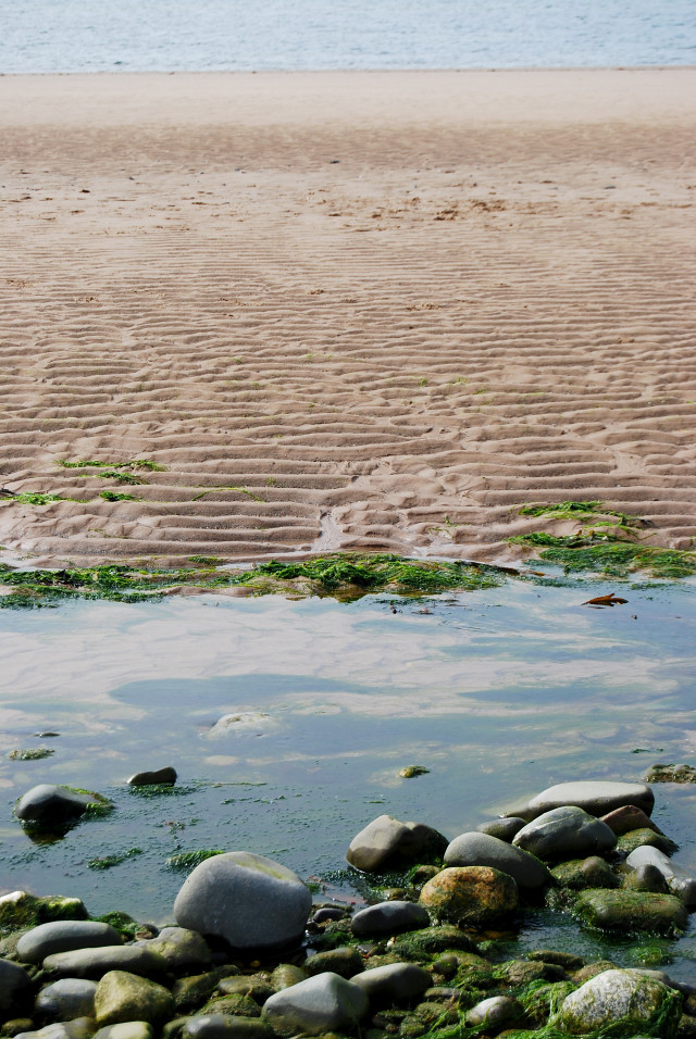 Ripples on Ballaugh Beach
