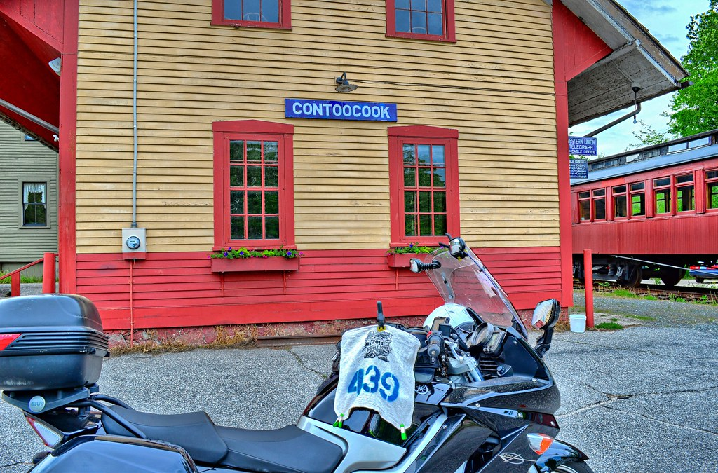 Contoocook Railroad Depot - Hopkinton NH