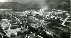 postcard - bolzano - zona industriale -