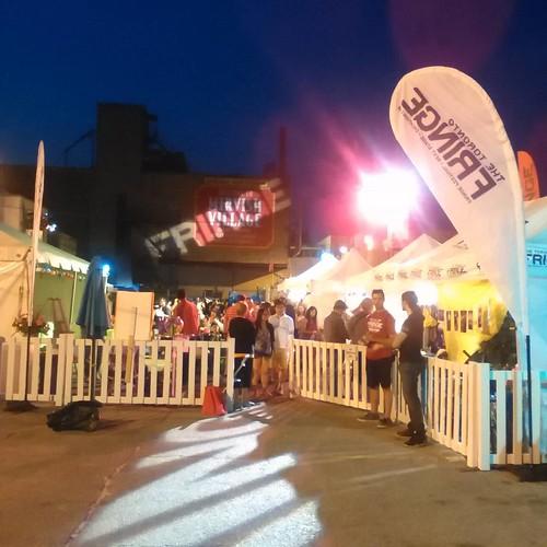 Fringe at night #toronto #fringeto #honesteds #thealley #night