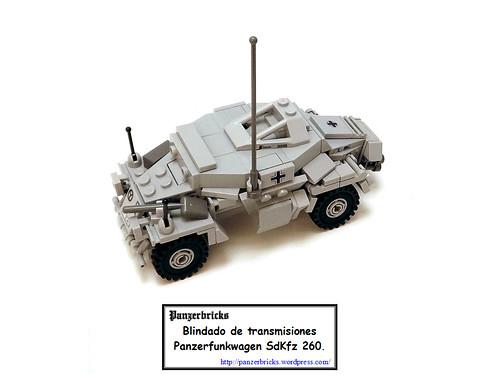 Kleine Panzerfunkwagen SdKfz 260 de Panzerbricks
