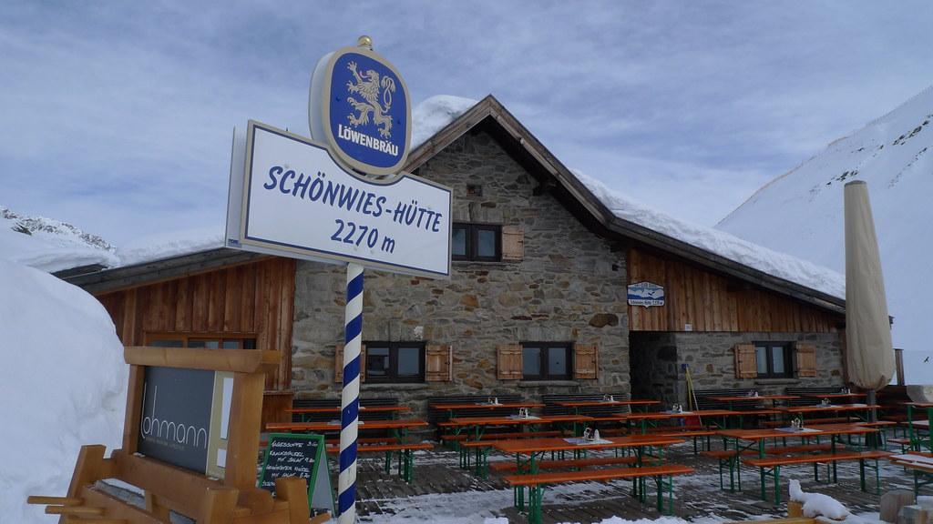 Langtalereckhütte Ötztaler Alpen / Alpi Venoste Österreich foto 01